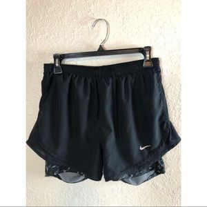Nike 2-in-1 shorts. Size M.